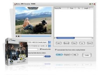 Download   Extra DVD Creator v6.3