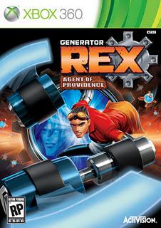 Download – Jogo Generator Rex Agent of Providence Xbom360 2011 Baixar